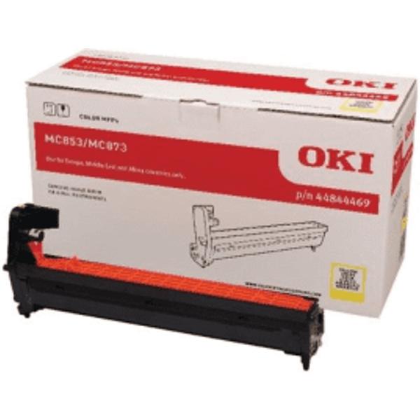OKI 44844469 Trommel yellow original - passend für OKI MC 873 dnc