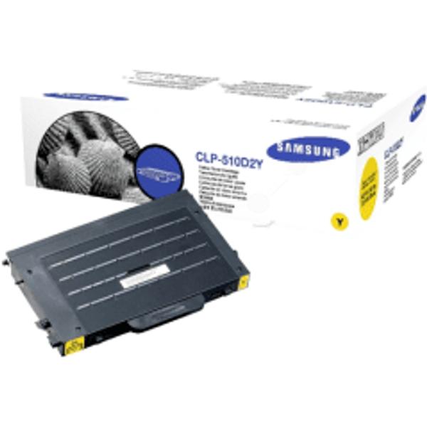 Samsung CLP-510D2Y Yellow Toner Cartridge (Original)