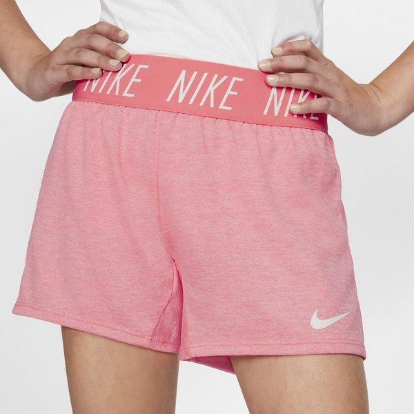 Nike Dri-FIT Trophy Older Kids' (Girls') Training Shorts - Pink (910252-668)