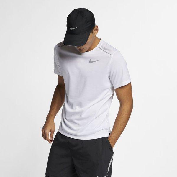 Nike M NK Dry Miler Top SS Herren ( Schwarz INT,)