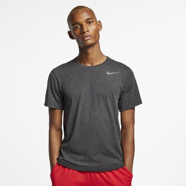 Nike Breathe Men's Short-Sleeve Training Top - Black