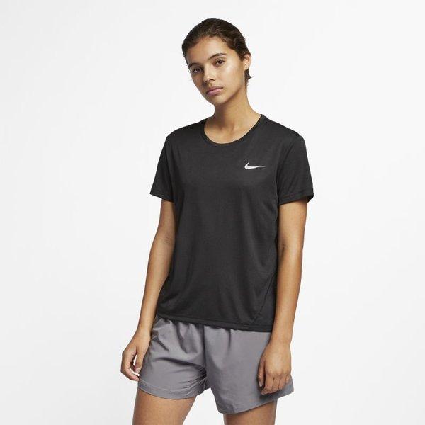 Nike Miler Women's Short-Sleeve Running Top - Black