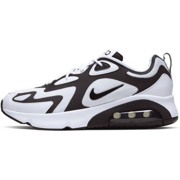Herren Sneaker Air Max 200 White Black