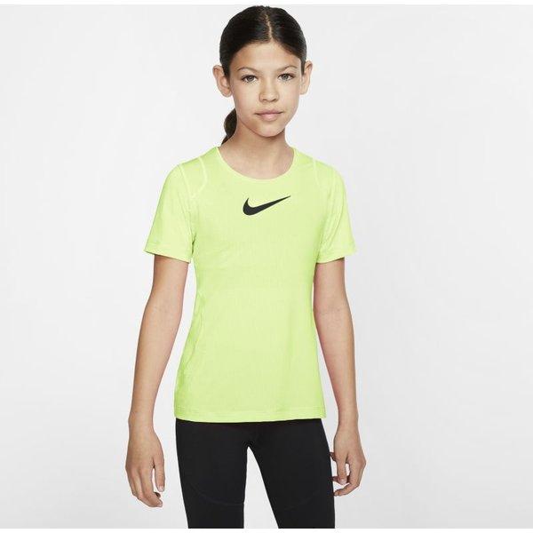 Hautà manches courtes Nike Pro pour Fille plus âgée - Vert