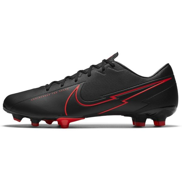 Nike Mercurial Vapor 13 Academy MG Multi-Ground Football Boot - Black