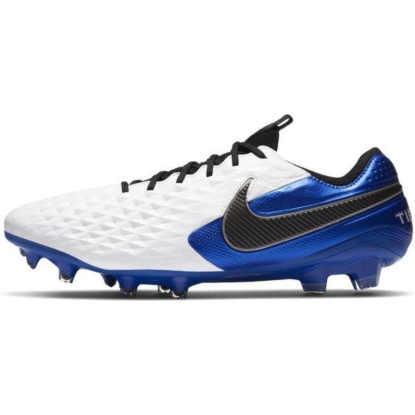 Nike Tiempo Legend 8 Elite FG Fußballschuh für normalen Rasen - Weiß