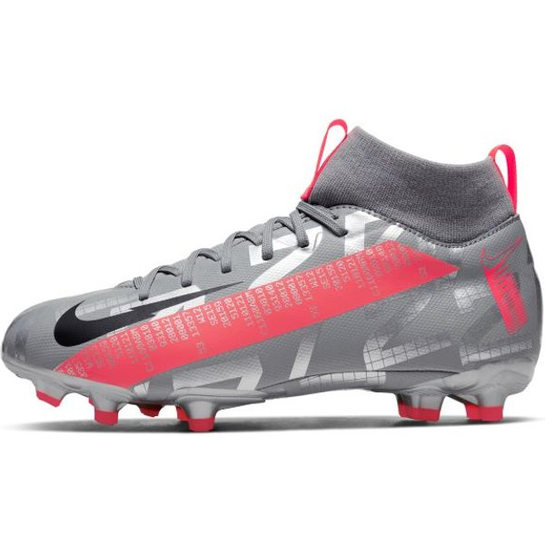 Nike Jr. Mercurial Superfly 7 Academy MG Kids' Multi-Ground Football Boot - Grey