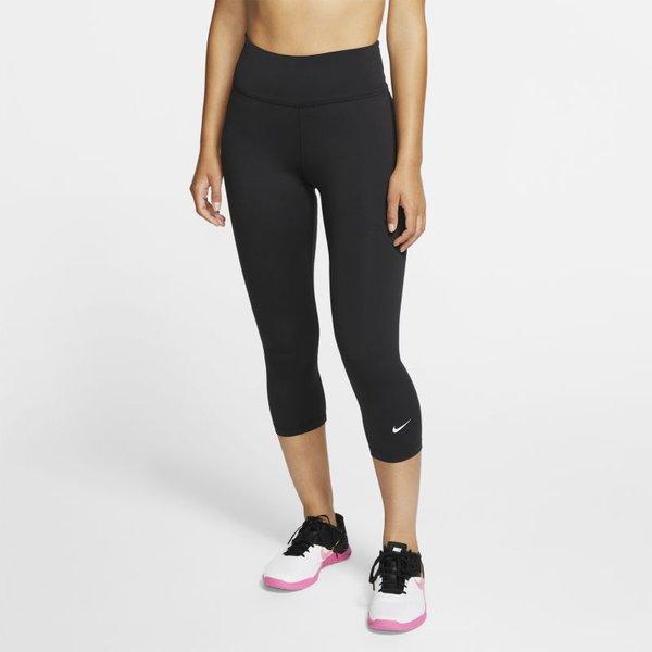 Nike One Damen-Caprihose - Schwarz