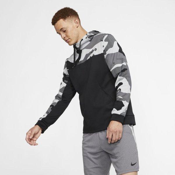 Nike Therma Trainings-Hoodie für Herren - Schwarz