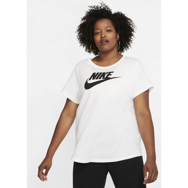 Tee-shirt Nike Sportswear Essential pour Femme (grande taille) - Blanc