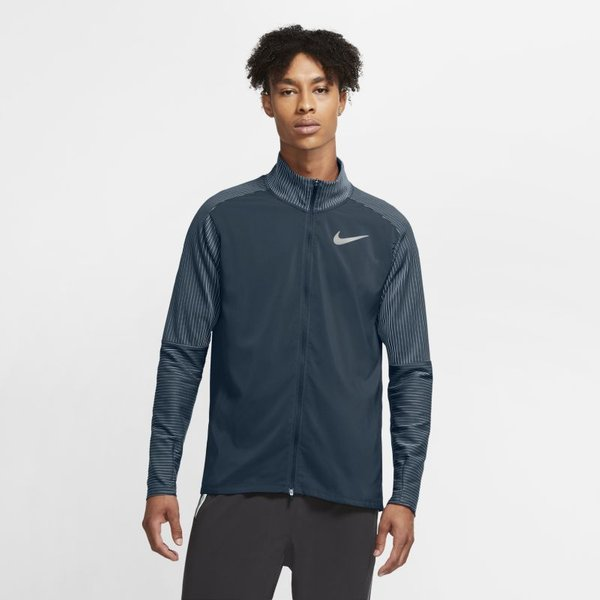 Nike Future Fast Men's Hybrid Running Top - Blue