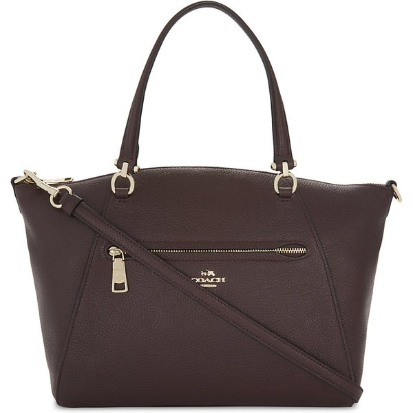 4c0454dd COACH | Coach Ladies Oxblood Praire Leather Cross-Body Bag | Goxip