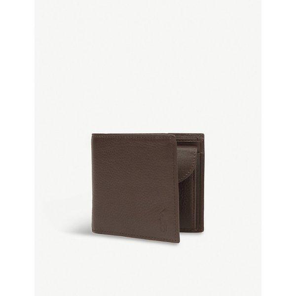 0ddd1cc6f0d5 POLO RALPH LAUREN | Polo Ralph Lauren Pebbled leather wallet, Mens, Brown |  Goxip