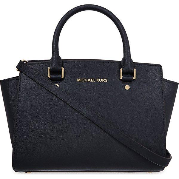 127898036b1e Michael Michael Kors Selma medium Saffiano leather satchel Medium ...