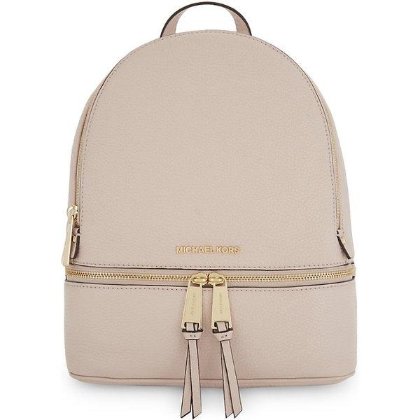fc6af7772789 MICHAEL MICHAEL KORS Rhea medium leather backpack