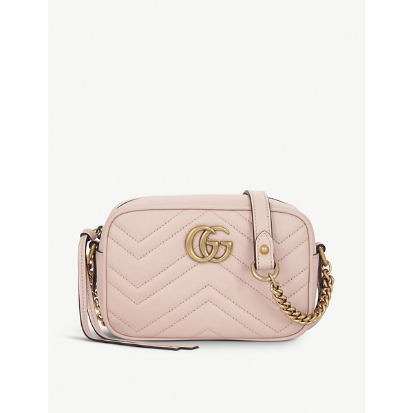 af1abd26c744 GUCCI | GG Marmont small quilted leather camera cross-body bag | Goxip