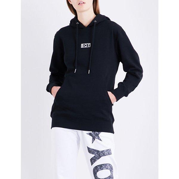 f5a47a45c3c2 BOY LONDON Flock Eagle cotton-jersey hoody