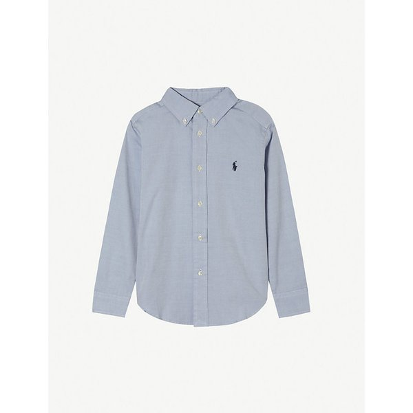 RALPH LAUREN | Ralph Lauren Custom fit long-sleeve shirt 8-16 years | Goxip
