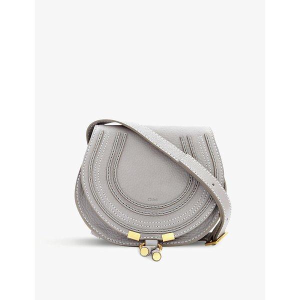 9365fc65cf93 CHLOE Marcie mini textured-leather shoulder bag