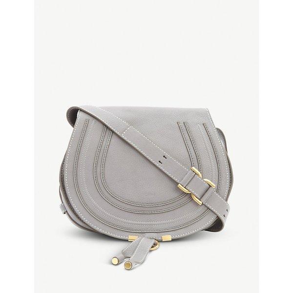 9bb58850a356 Chloe Marcie leather satchel