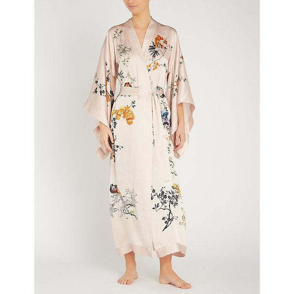 a9e7d3bbd MENG | Floral-pattern silk kimono | Goxip