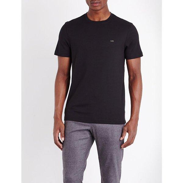 MICHAEL KORS | Michael Kors Crewneck cotton-jersey t-shirt, Mens | Goxip