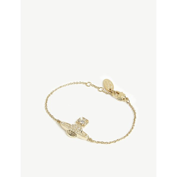 VIVIENNE WESTWOOD JEWELLERY | Mini Bas Relief chain bracelet | Goxip