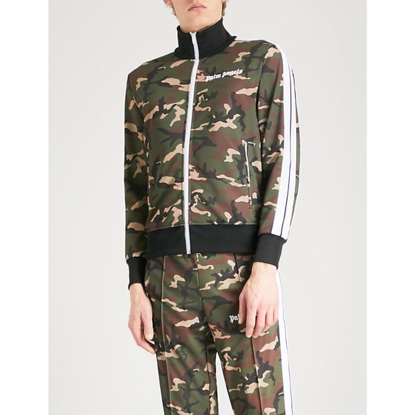 df594a2b92ecc PALM ANGELS | Camouflage-patterned shell jacket | Goxip