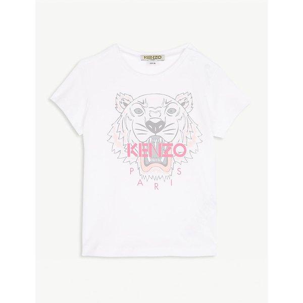545c20b5c KENZO   Striped coStriped collar cotton polo shirt 6-18 months   Goxip