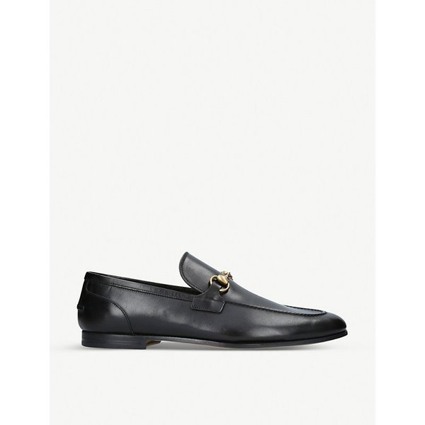 GUCCI | Jordaan leather loafers | Goxip