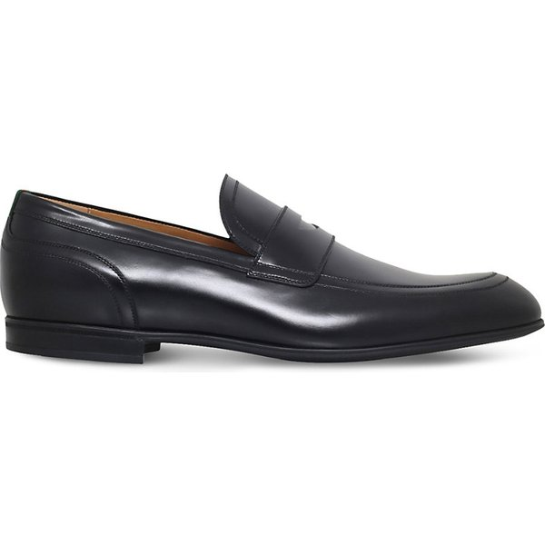 c63ce6e5267 GUCCI Ravello leather penny loafers