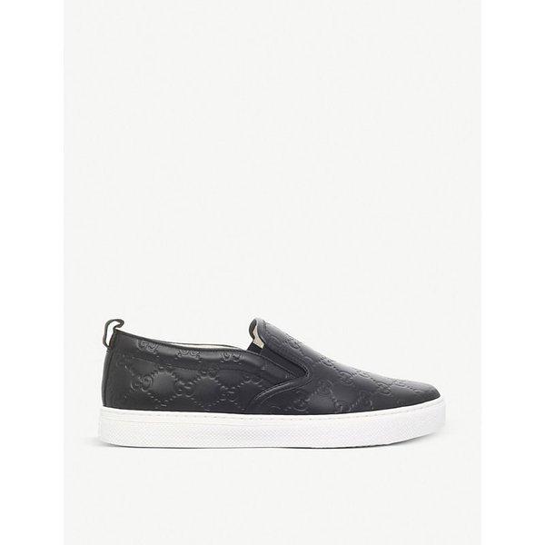 ebf4e06b5bf Gucci Dublin GG leather skate shoes