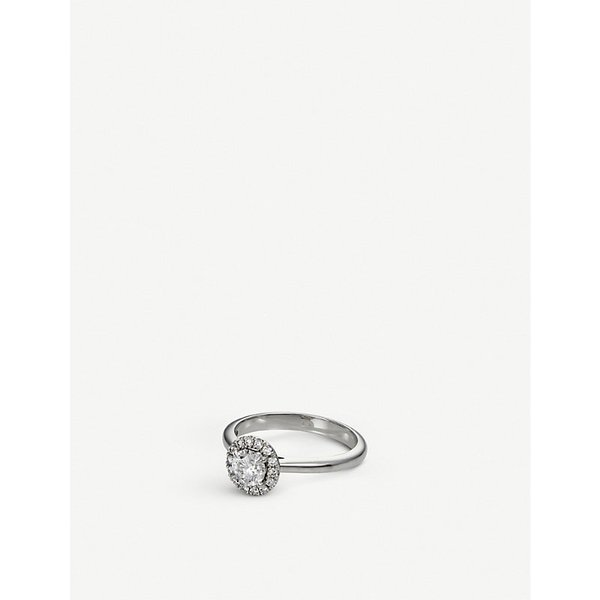 BUCHERER JEWELLERY | Joy 18ct white gold and diamond ring | Goxip