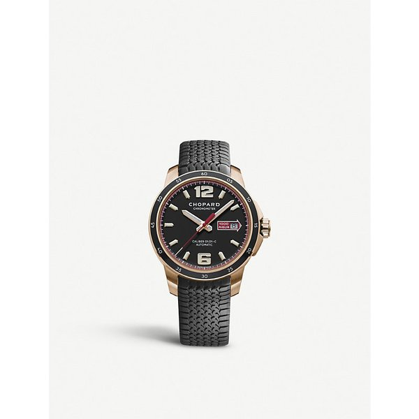 CHOPARD   Chopard Mille Miglia 18ct rose-gold GTS automatic watch, Mens, sapphire   Goxip