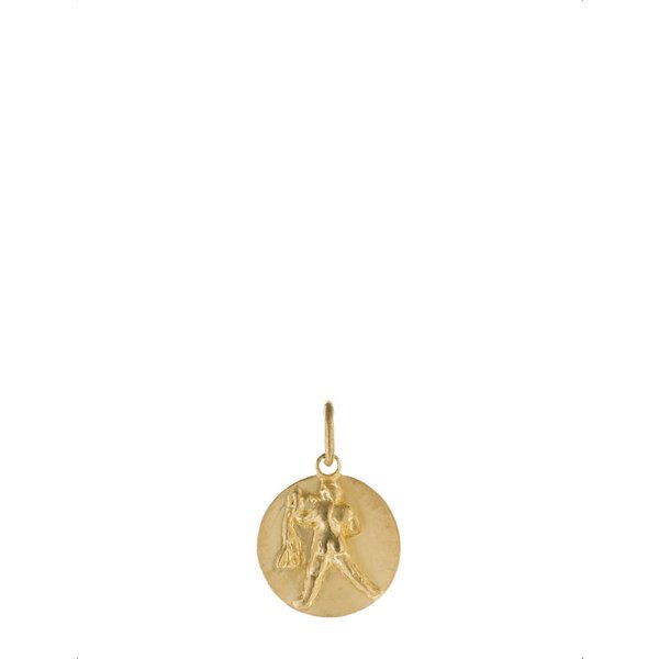 ANNOUSHKA | Annoushka Aquarius 18ct yellow gold pendant, yellow | Goxip