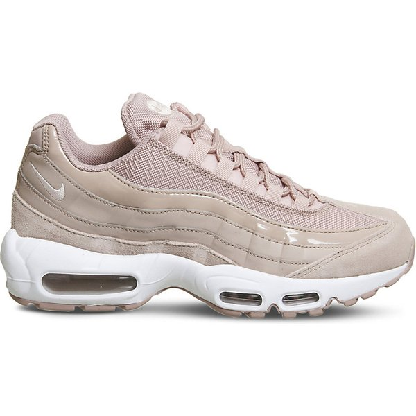 NIKE | Air Max 95 leather and mesh trainers | Goxip