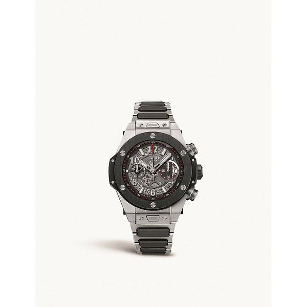 HUBLOT | 411.nm.1170.nm Big Bang UNICO titanium automatic watch | Goxip