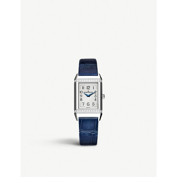 JAEGER LE COULTRE | Q3288420 Reverso stainless steel and leather | Goxip