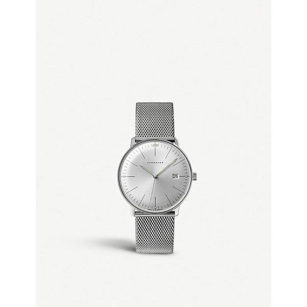 JUNGHANS | Junghans 041/4463.44 Max Bill stainless steel quartz watch | Goxip