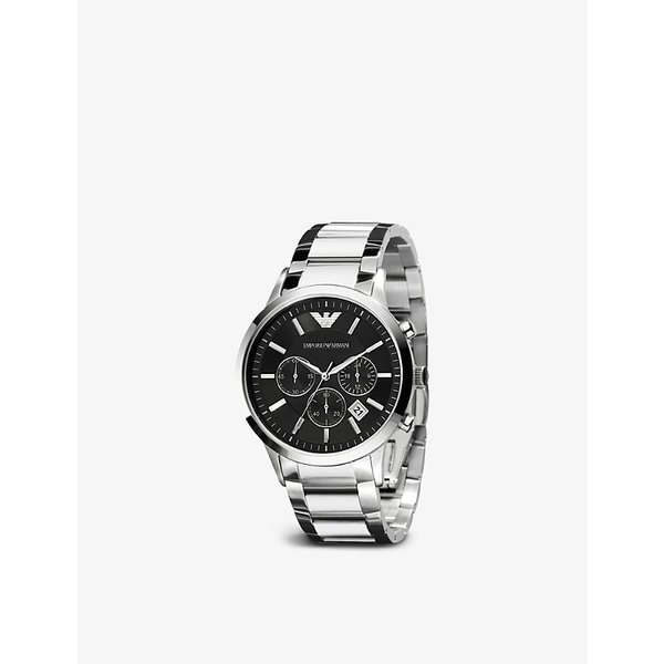 EMPORIO ARMANI   AR2434 stainless steel watch   Goxip