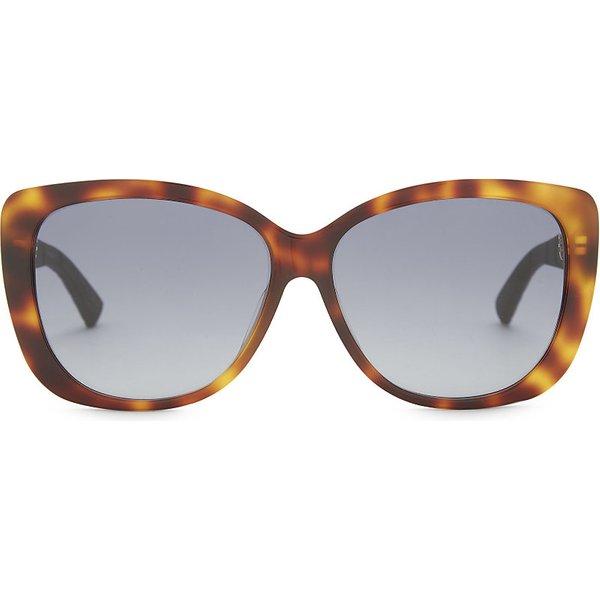 DIOR | Diorlady tortoiseshell sunglasses | Goxip