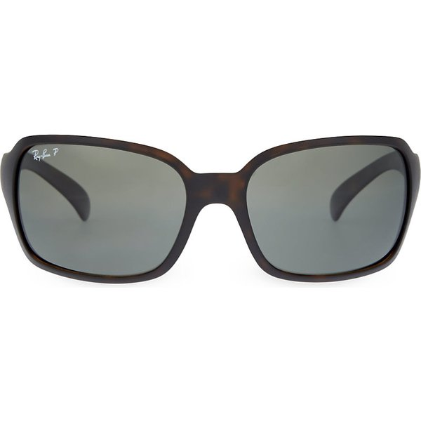 86e5dad440 ACNE STUDIOS Dielle cat-eye python-effect leather and acetate ...