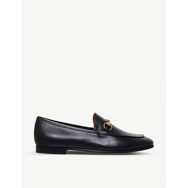 9e55b96de8b Gucci - Jordaan Horsebit-detailed Leather Loafers - Navy