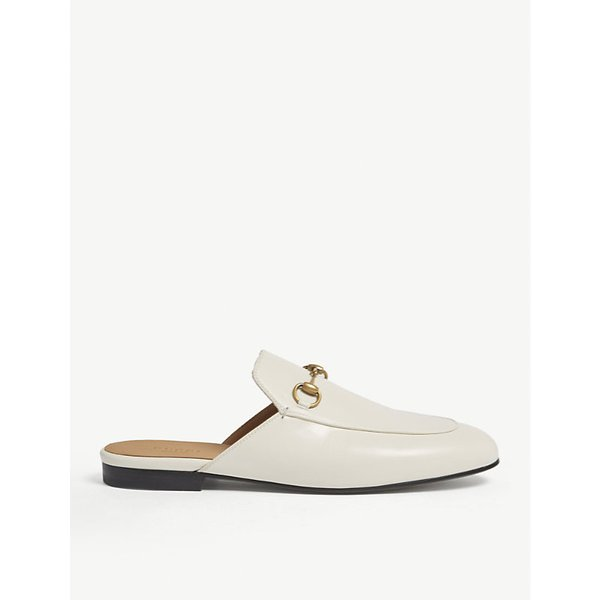 GUCCI | Princetown leather slippers | Goxip