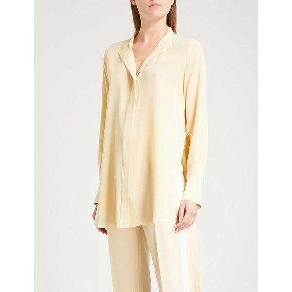 70daf7af104413 JOSEPH Collarless silk blouse