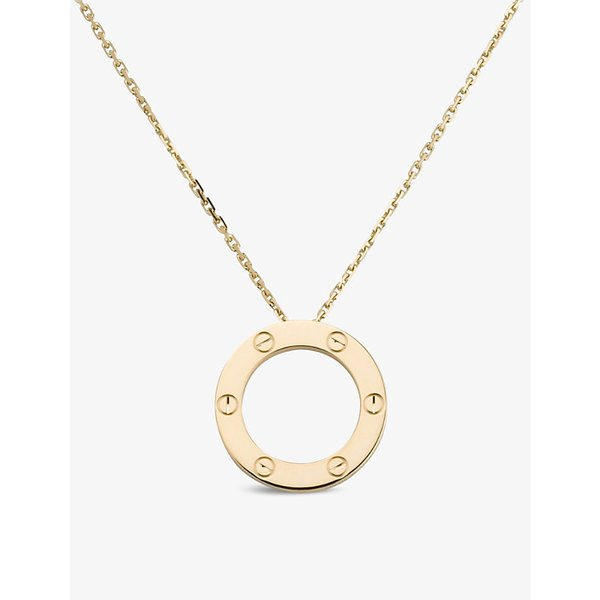 CARTIER | Cartier Love 18ct yellow-gold necklace | Goxip