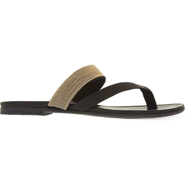 cbce28c8aeb Kg Kurt Geiger Mae leather sandals EUR 36   3 UK WOMEN