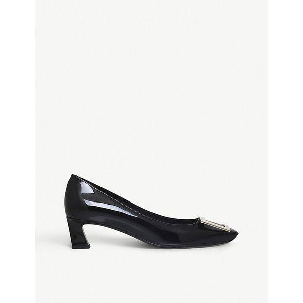 ROGER VIVIER   Belle Vivier leather high heels   Goxip
