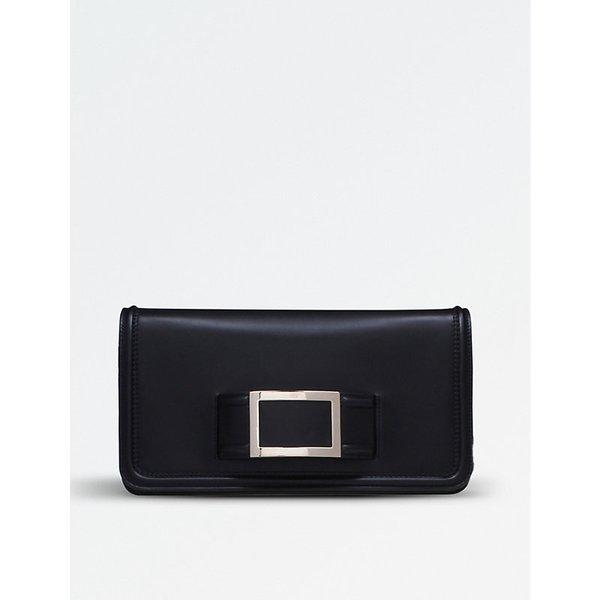 b5c02d435c ROGER VIVIER Keep it Viv  leather envelope clutch
