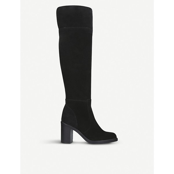 KURT GEIGER LONDON | Tring over-the-knee suede boots | Goxip